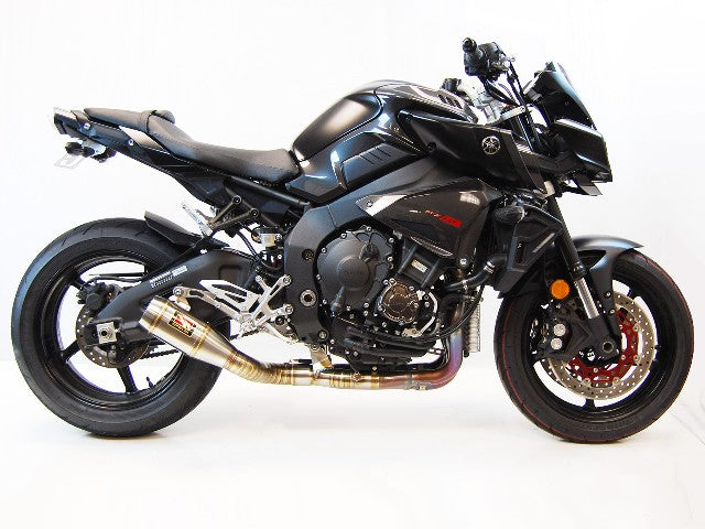 2017-2020 Yamaha MT10 Exhaust by Competition Werkes. Yamaha MT-10 Exhaust