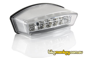 Ducati Monster 600 Integrated Tail Light in Clear or Smoked Lens | Ducati Monster 600 LED Tail Light with Built-In Turn Signals