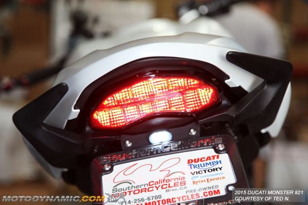 2017-2020 Ducati Monster 797 Integrated LED Tail Light | Ducati Monster 797 Sequential LED Tail Light