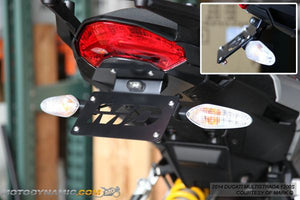 Ducati Multistrada 1200 Fender Eliminator Kit | Ducati Multistrada 1200 Tail Tidy | LED Plate Light