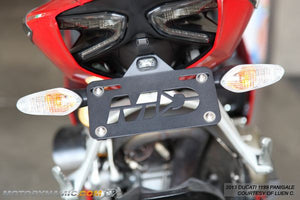 Ducati 899 Panigale Fender Eliminator Kit | Ducati 899 Panigale Tail Tidy | LED Plate Light
