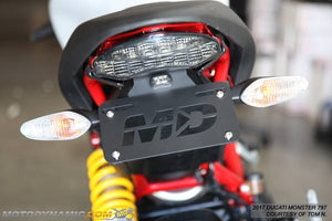 2017-2020 Ducati Monster 797 Fender Eliminator Kit | Ducati Monster 797 Tail Tidy | LED Plate Light