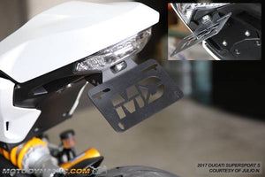 2018-2020 Ducati Monster 1200/1200S Fender Eliminator Kit | Ducati Monster 1200/1200S Tail Tidy | LED Plate Light
