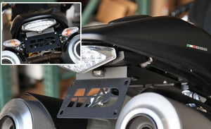 2012-2017 Ducati Monster 659 Fender Eliminator Kit | Ducati Monster 659 Tail Tidy | LED Plate Light