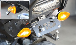 2019-2021 Yamaha Tracer 900 Fender Eliminator Kit | 2019-2021 Yamaha Tracer 900 Tail Tidy | LED Plate Light