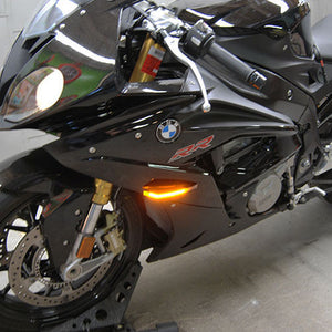 BMW S1000RR LED Front Turn Signals.