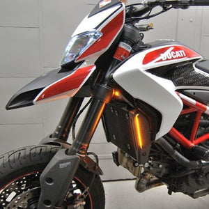 Ducati Hypermotard 821 / 939 LED Front Turn Signals.