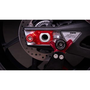 2010-2018 BMW S1000RR Swingarm Spool Sliders by Womet-Tech | Womet-Tech Swingarm Spool Sliders for BMW S1000RR
