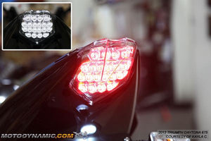 2013-2017 Triumph Daytona 675 Integrated LED Tail Light | 2013-2017 Triumph Daytona 675 Sequential LED Tail Light