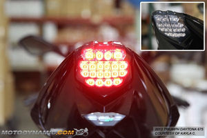 2013-2018 Triumph Street Triple Integrated LED Tail Light | 2013-2018 Triumph Street Triple Sequential LED Tail Light
