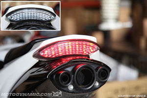 2006-2012 Triumph Daytona 675 Integrated LED Tail Light | 2006-2012 Triumph Daytona 675 Sequential LED Tail Light
