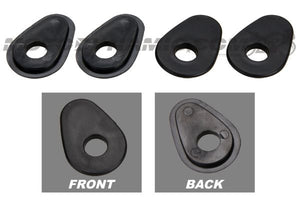 2009-2017 Yamaha FZ6R Turn Signal Adapters Spacers for Aftermarket Stalk Type Indicators Front or Rear