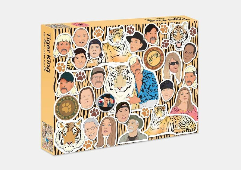 Tiger King 500pc Puzzle
