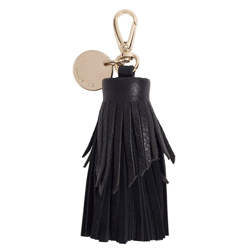 Tiered Leather Tassel