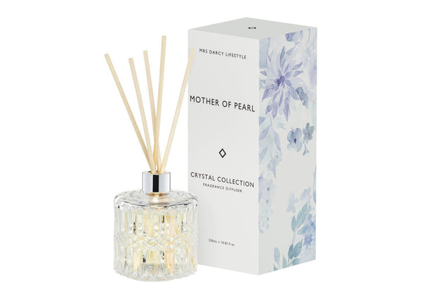 Mother Of Pearl Diffuser - Lemongrass + Coconut