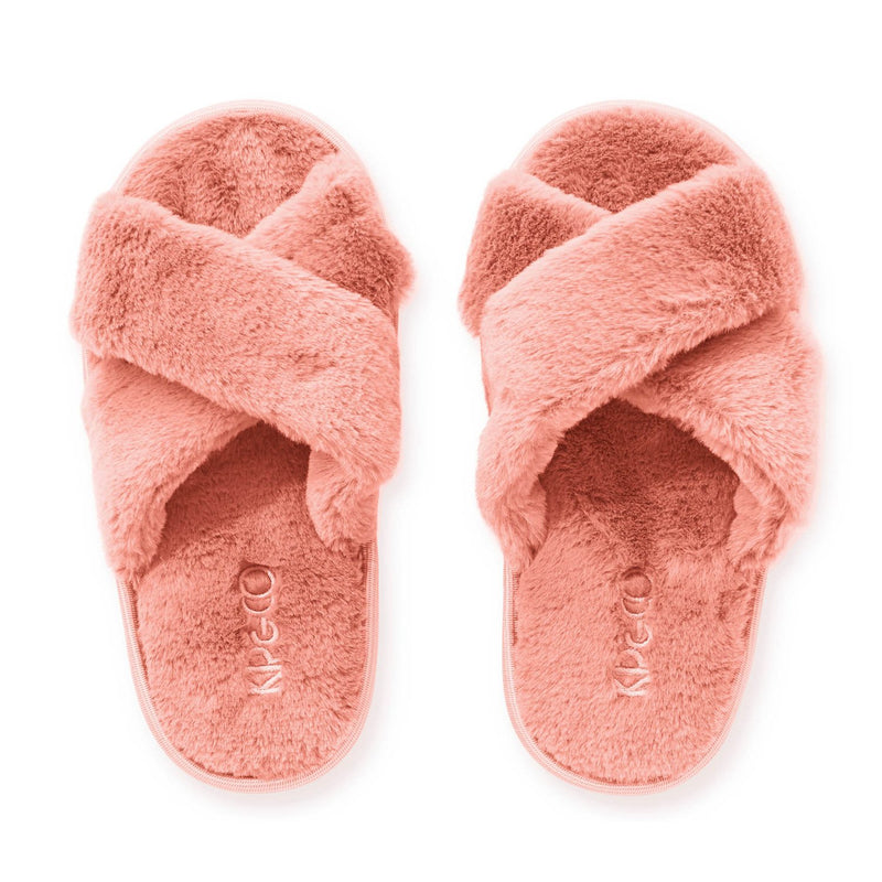 Blush Pink Kids Slipper