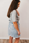 Boston Denim Skirt