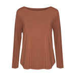 Adele Long Sleeve Tee - Toffee