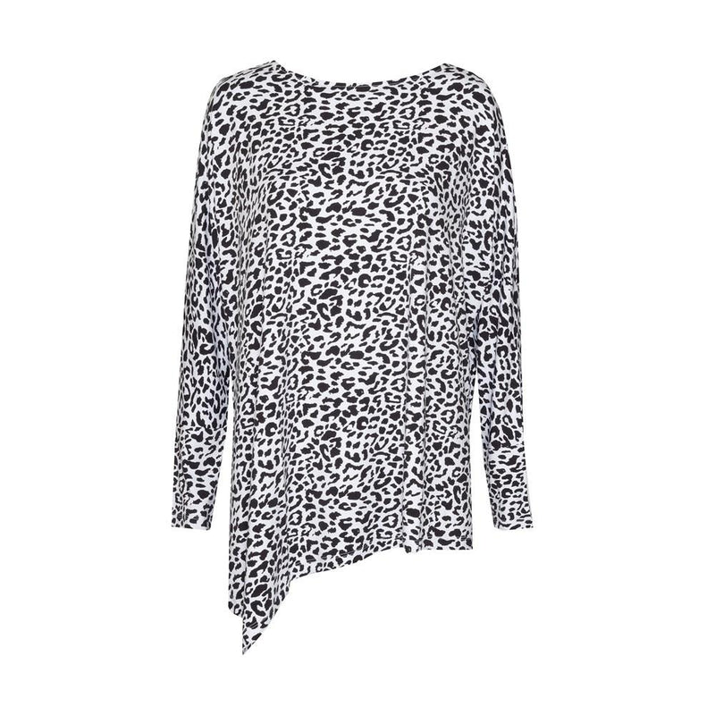 Susie Top - Black Leopard