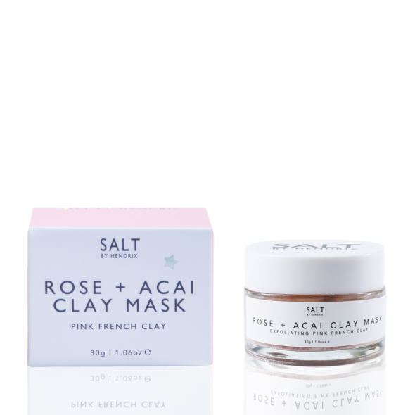 Rose + Acai Clay Mask