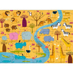 Sassi - Animals of Africa Giant Puzzle & Book Set