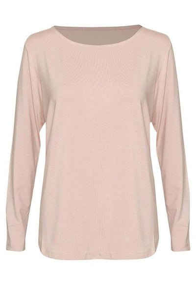 Adele Long Sleeve Tee - Blush