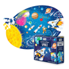 Sassi Travel, Learn, Explore Space Puzzle and Bookset - 205pc