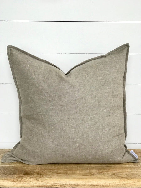 Natural Linen Cushion Cover