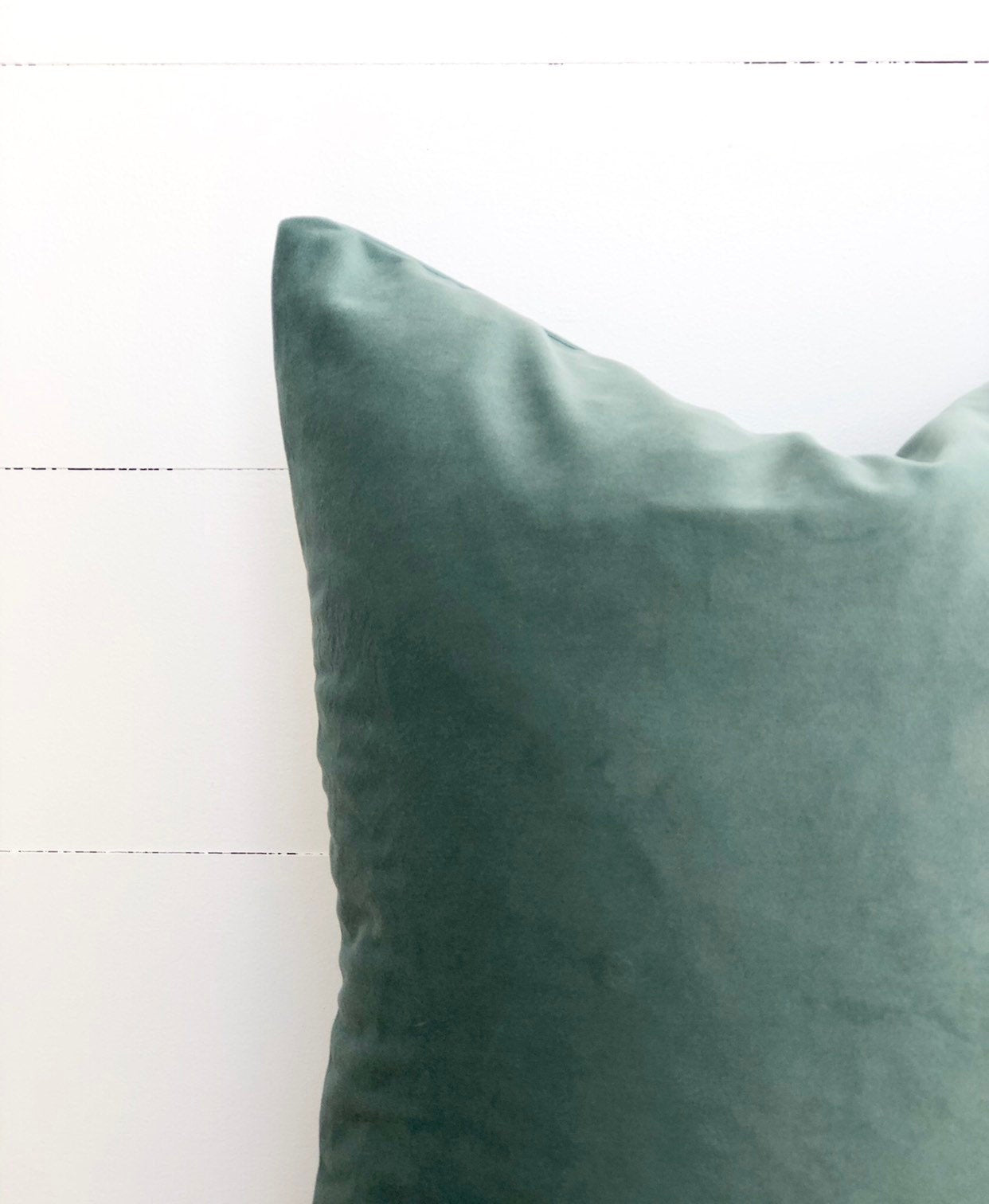 Eucalyptus Velvet Cushion Cover