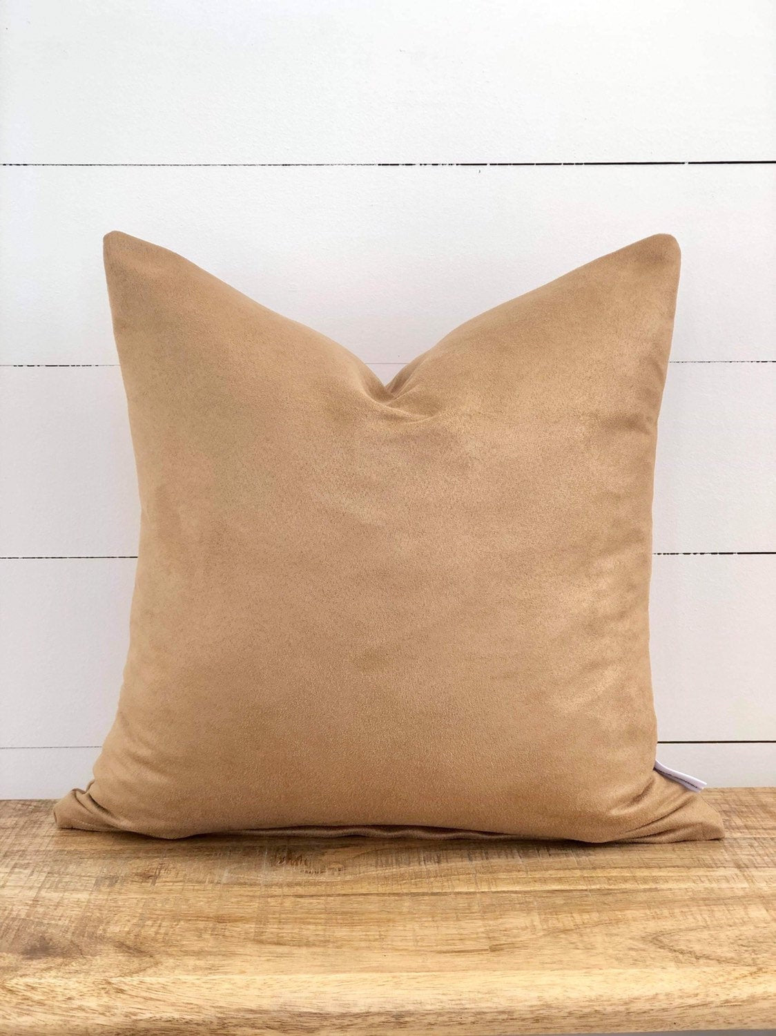 Sand Suede Cushion Cover