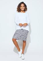 Whitney Midi Tube Skirt - Charcoal