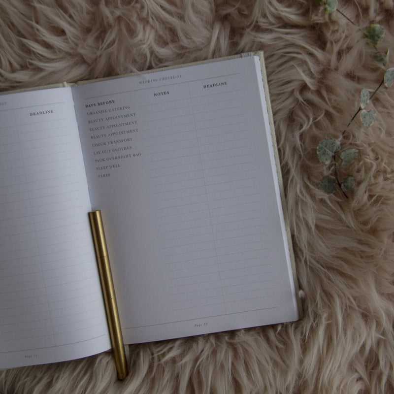 Write To Me - LOVE Our Wedding Planner
