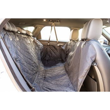 PREMIUM HAMMOCK CAR SEAT COVER: Black (NEW!)