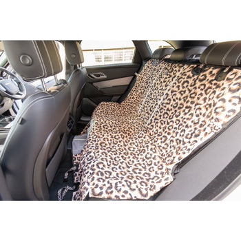 PREMIUM HAMMOCK CAR SEAT COVER: Luxurious Leopard (NEW!)