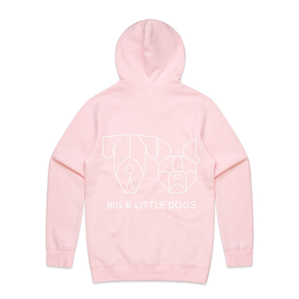 Pawrent BLD Gang Pink Premium Hoody Jumper with BLD Logo