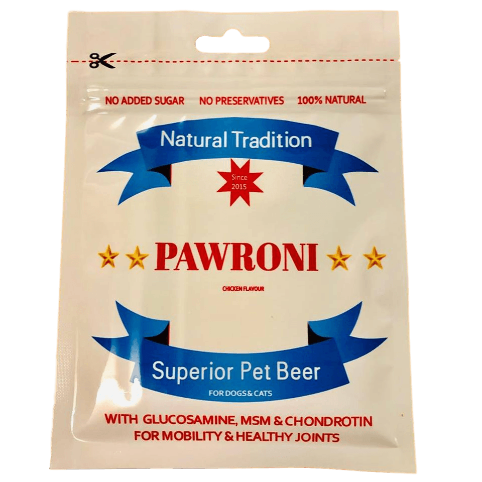 DOG TREATS L'Barkery Pawroni Dog Beer