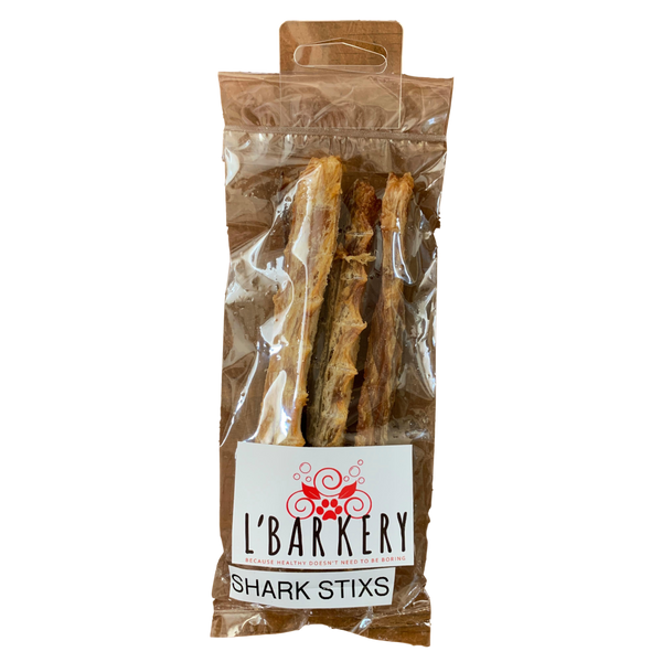 DOG TREATS L'Barkery Shark Stix