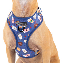 Adjustable Dog Harness Cafe O'Clock Coffee Latte Bubble Tea Cookies