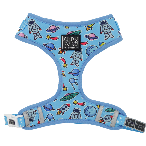 Adjustable Dog Harness Out of This World Space