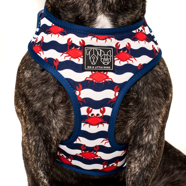 ADJUSTABLE DOG HARNESS: Under The Sea