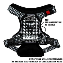 THE ALL-ROUNDER DOG HARNESS: Houndstooth Squad
