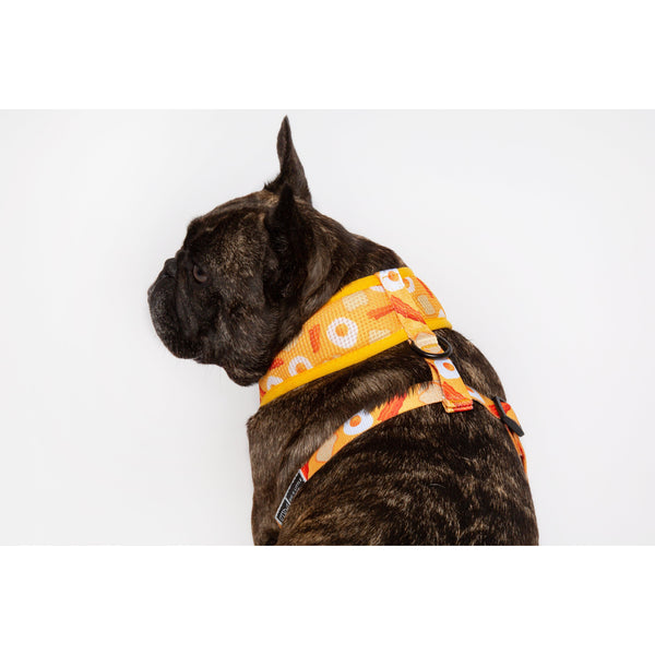 BAE Bacon and Eggs Classic Mesh Dog Harness