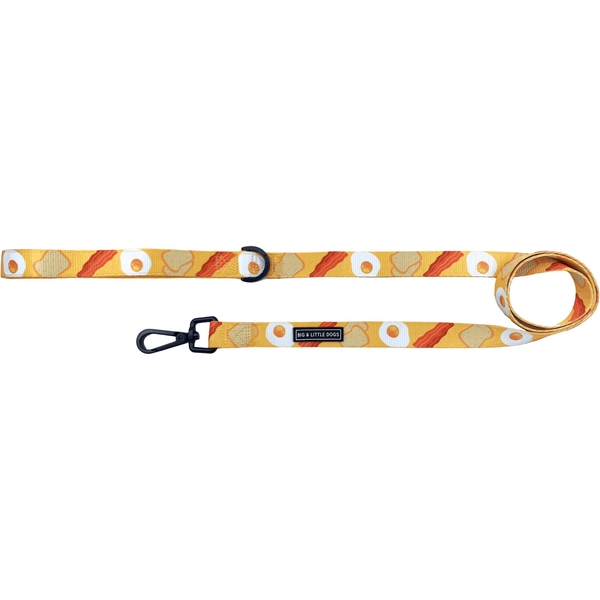 B.A.E Bacon and Eggs Neoprene Comfort Dog Leash
