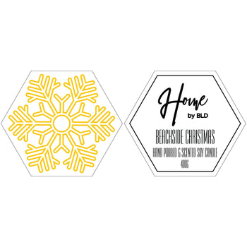 Home by BLD | Beachside Christmas Soy Candle