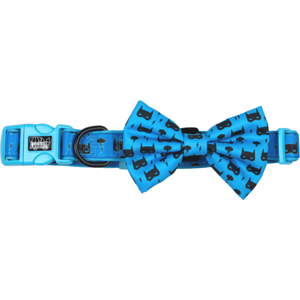 Dog Collar and Bowtie for Big and Small Dogs