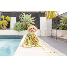 Dog Rashie UPF 50+ Ultimate Sun Protection Beachwear Lookin' Pine Pineapples