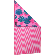 Beach Towel Sand Resistant Quick Dry Summer Lovin' Pink Monstera Leaves