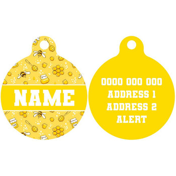 Premium Pet ID Tag | Bee-Hiving