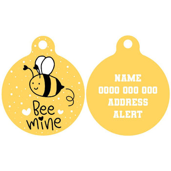 Pet ID Tag | Bee Mine