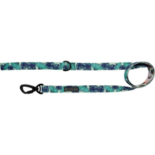 Comfort Dog Leash Miami Summer Palm Leaves Coconuts